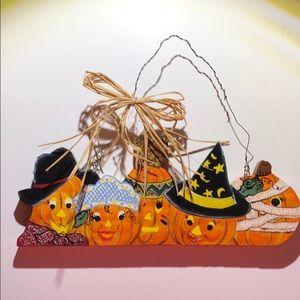 Pumpkin 🎃 wall hanging halloween autumn decor